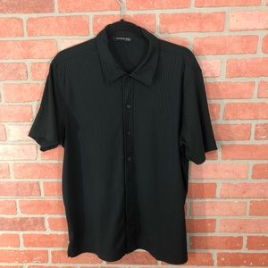 Vintage Kennith Cole Short Sleeve Button Down
